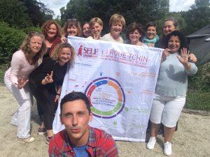 Le trajet du self-leader - juillet 2018 - Ardennes @ Ardennes Belges